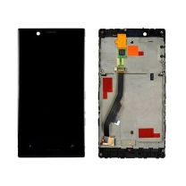 Nokia Lumia 720 LCD Black With Frame OEM - 3306743547