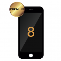 iPhone 8 LCD Assembly (PREMIUM) (BLACK) - 5501201412362