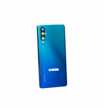 Official Huawei P30 Aurora Blue Battery Cover with Adhesive - 02352NMN