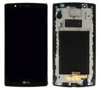 LG G4 LCD Black With Frame OEM - 5505455123458