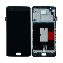 One Plus 3T LCD Assembly Black OEM - 5516001223569