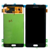 Genuine Samsung SM-A710 Galaxy A7 Complete Lcd with Digitizer Assembly in Octa Black- GH97-18229B