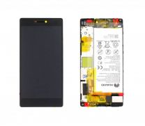 Genuine Huawei P8 (GRA-L09) LCD Display Module, Black, 02350GRW