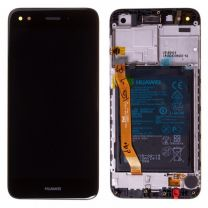 Genuine Huawei Y6 PRO 2017/P9 Lite Mini (SLA-L02, SLA-L03, SLA-L22) LCD Display Black - 02351TVA