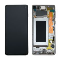 Official Samsung Galaxy S10 G973 Prism Blue LCD Screen & Digitizer - GH82-18850C