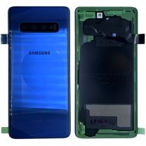 Genuine Samsung Galaxy S10 Plus (G975F) Prism Blue  - Replacement Battery Back Cover - GH82-18406C