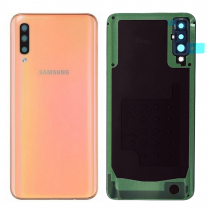 Genuine Samsung Galaxy A50 SM-A505 Coral Back / Battery Cover - GH82-19229D