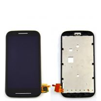Motorola Moto E LCD Black With Frame OEM - 5507002234217
