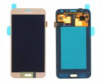 Genuine Samsung SM-J700 Galaxy J7 Complete Lcd with Digitizer in Gold- Samsung GH97-17670B