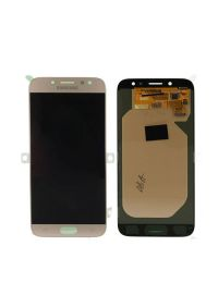 Genuine Samsung Galaxy A7 (2017) A720 LCD and Touchpad in Gold - GH97-19723B