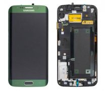 Genuine Samsung Galaxy S6 Edge G925F Green LCD Screen & Digitizer - GH97-17162E