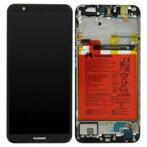 Genuine Huawei P Smart Black LCD Screen & Digitizer With Battery - 02351SVJ
