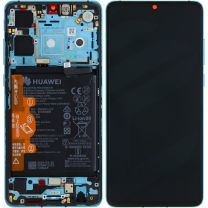 Official Huawei P30 Aurora Blue LCD Screen & Digitizer with Battery - 02352NLN