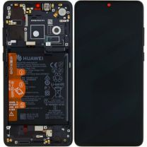 Official Huawei P30 Black LCD Screen & Digitizer with Battery - 02352NLL