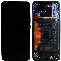 Official Huawei Mate 20 Pro Twilight LCD Screen & Digitizer with Battery - 02352GGC / 02352EYS