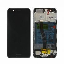 Genuine Huawei P10 Black LCD Screen & Digitizer with Battery 3200mAH - 02351DGP
