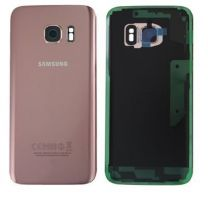Genuine Samsung Galaxy S7 G930 Pink Gold Battery Cover & Adhesive - GH82-11384E