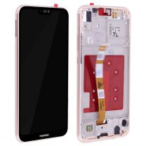 Huawei P20 Lite Pink LCD Screen & Digitizer with Frame OEM - 400058