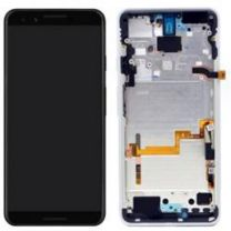 Official Google Pixel 3 Clearly White LCD Screen & Digitizer - 20GB1WW0S03