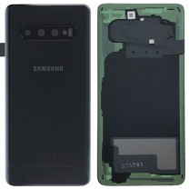 Official Samsung Galaxy S10 G973 Prism Black Battery Cover - GH82-18378A