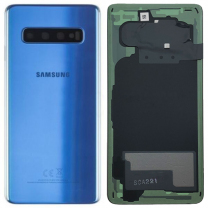 Official Samsung Galaxy S10 G973 Prism Blue Battery Cover - GH82-18378C
