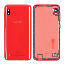 Genuine Samsung Galaxy A10 SM-A105 Red Battery / Rear Cover - GH82-20232D