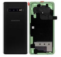 Official Samsung Galaxy S10+ G975 Prism Black Battery Cover - GH82-18406A