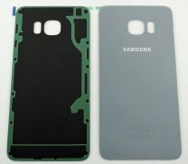 Genuine Samsung Galaxy S6 Edge+ G928F SIlver Rear / Battery Cover with Adhesive - GH82-10336D