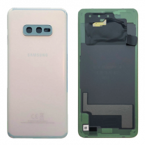 Official Samsung Galaxy S10E G970 Prism White Battery Cover - GH82-18452F
