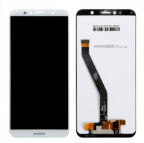 Huawei Y6 Prime 2018 LCD Touch Screen Assembly White OEM - 4068245334