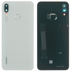 Genuine Huawei P Smart Plus Back Cover In White : 02352CAQ