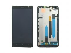 Nokia Lumia 1320 LCD Black With Frame OEM - 5508130123145