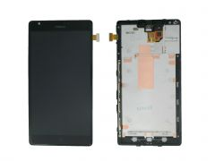 Nokia Lumia 1520 LCD Black With Frame OEM - 5508080123451