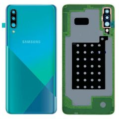 Genuine Samsung A30s SM-A307 Battery Cover In Green : GH82-20805B