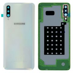 Genuine Samsung A30s SM-A307 Battery Cover In White : GH82-20805D