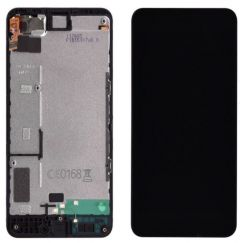Nokia Lumia 630/635 LCD Black With Frame OEM - 5508020423418