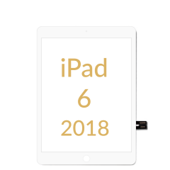Apple iPad 6th Generation (2018) Touch Screen Digitizer White OEM - 5240258272