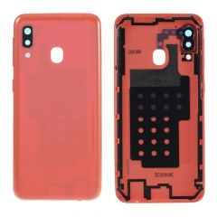 Samsung Galaxy A20e SM-A202 Battery Cover Coral OEM -