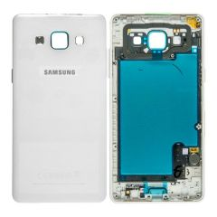 Genuine Samsung SM-A500F Galaxy A5 Battery Cover White : GH96-08241A
