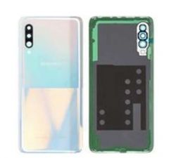 Official Samsung Galaxy A90 5G SM-A908 White Battery Cover with Adhesive - GH82-20741B