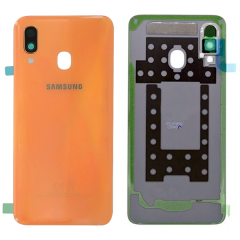 Genuine Samsung Galaxy A40 SM-A405 Coral Battery Cover - GH82-19406D