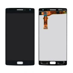 One Plus 2 LCD Assembly Black OEM - 5516001223457