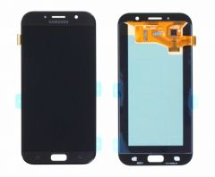 Genuine Samsung Galaxy A7 (2017) A720 Lcd and touchpad in black - GH97-19723A