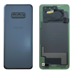 Official Samsung Galaxy S10E G970 Prism Black Battery Cover - GH82-18452A