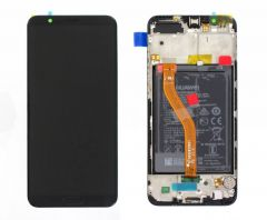 Genuine Honor View 10 BKL-L09 Black LCD Screen & Digitizer - 02351SXC