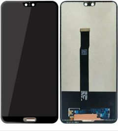 Huawei P20 LCD Touch Screen Assembly Black OEM - 4486115512