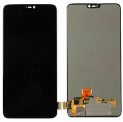 One Plus 6 LCD Assembly Black OEM - 3137714834
