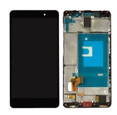 Huawei Honor 7 LCD Touch Screen Assembly With Frame Black OEM - 8696708975