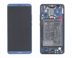 Genuine Huawei Mate 10 Pro BLA-L09, BLA-L29 Blue LCD Screen & Digitizer - 02351RVH