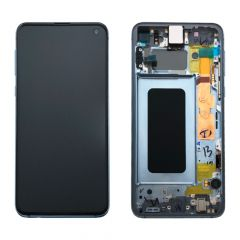 Official Samsung Galaxy S10E G970 Prism Blue LCD Screen & Digitizer- GH82-18852C